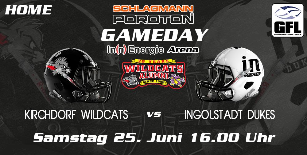 Wildcats heiß auf Ingolstadt