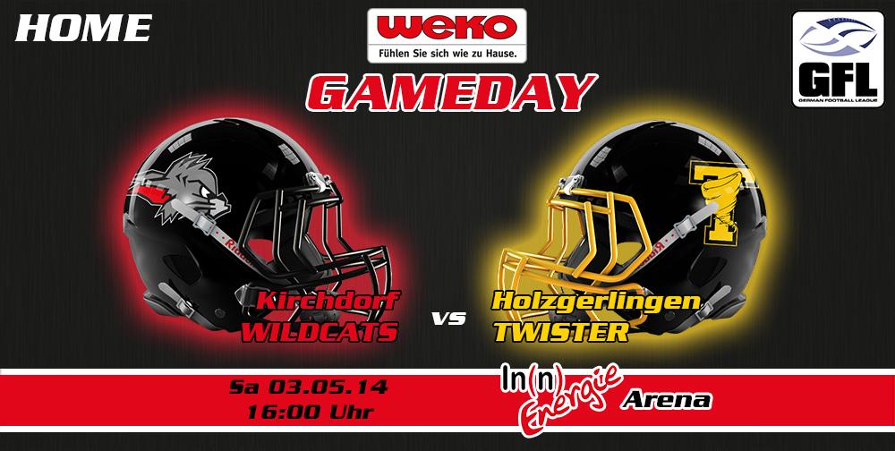 Wildcats starten mit WEKO Gameday in die Saison