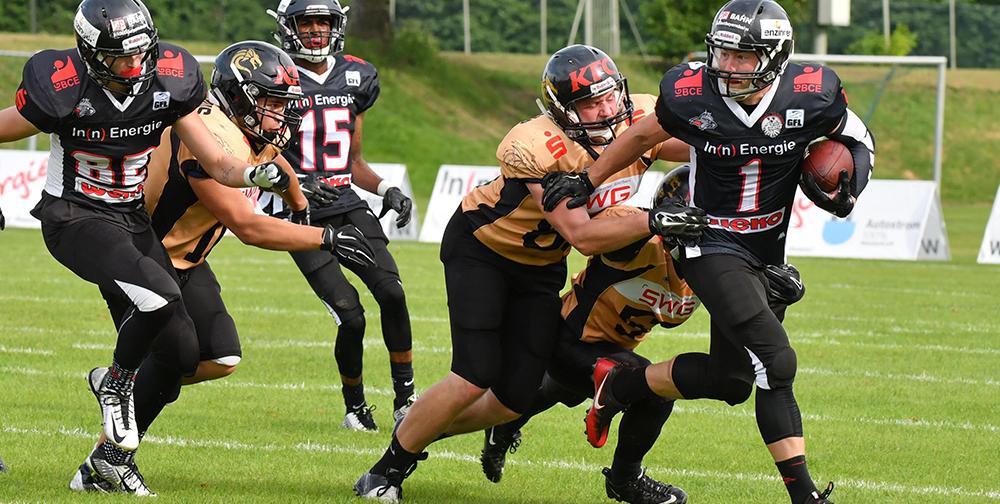 Kirchdorf Wildcats besiegen die hessischen Drachen