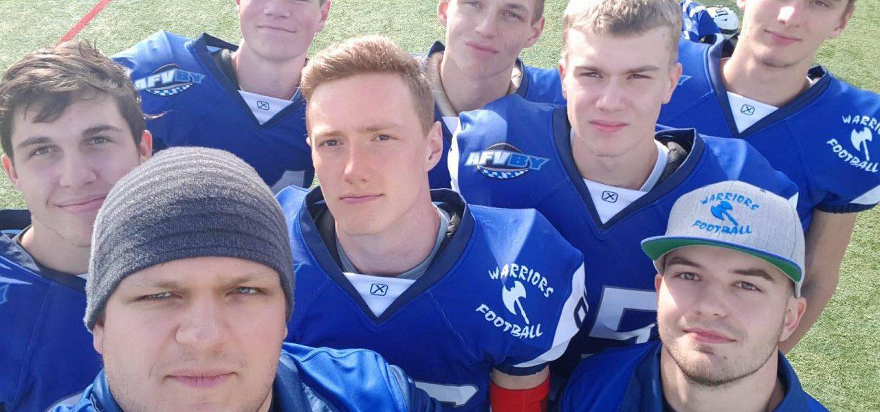 Wildcats Juniors bei den Warriors