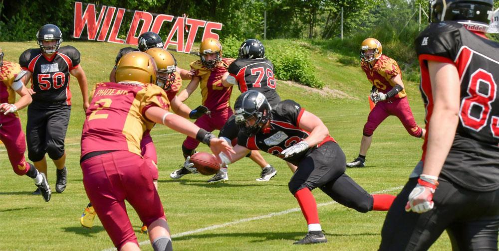 Wildcats Juniors weiterhin Gruppenerster