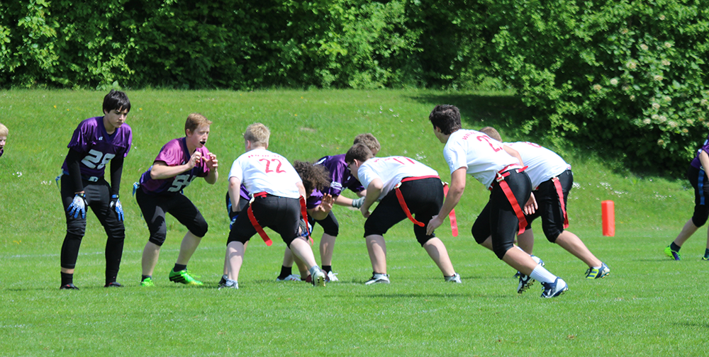 Wildcats Flagteam in Passau