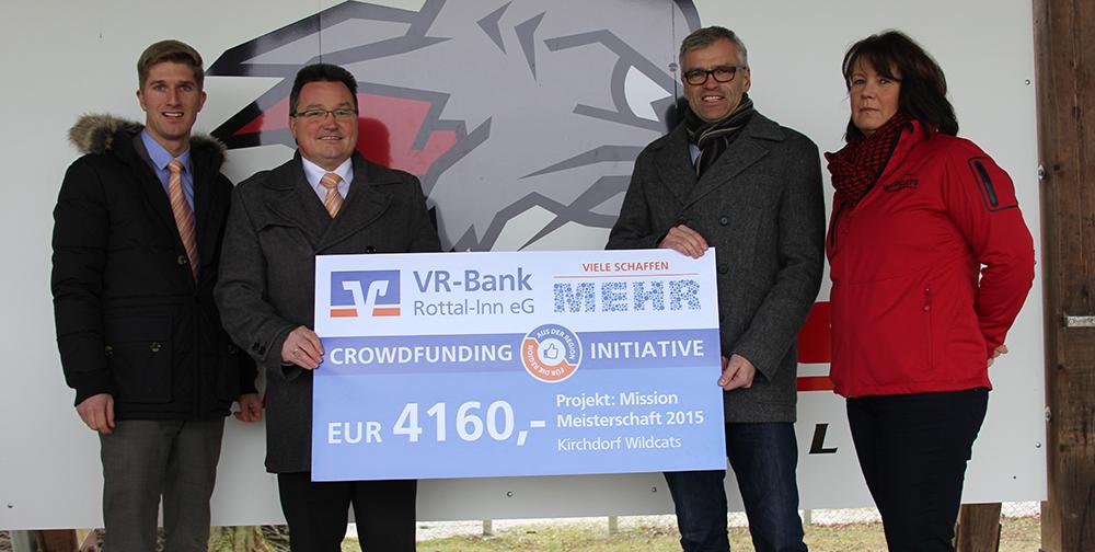 Wildcats schaffen Crowdfunding
