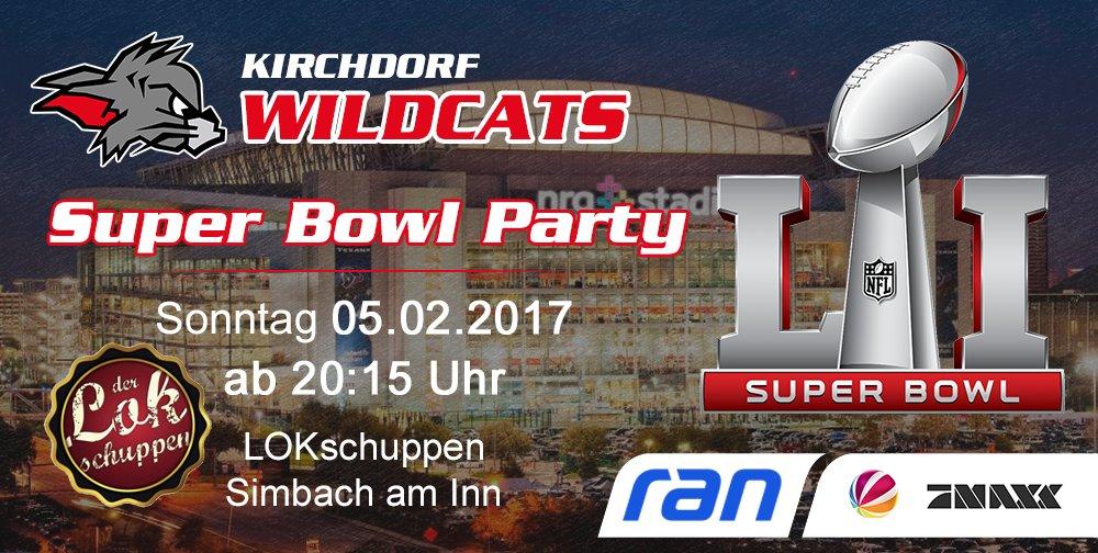 Wildcats Super Bowl Party