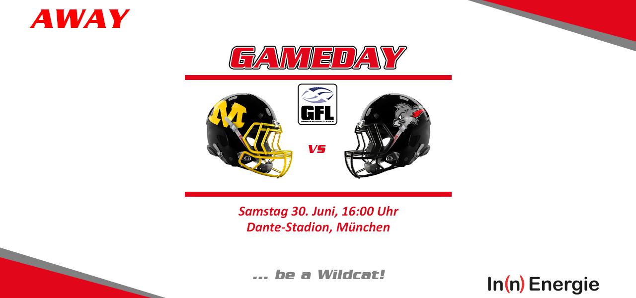 Wildcats in München, U19 im Bayernfinale