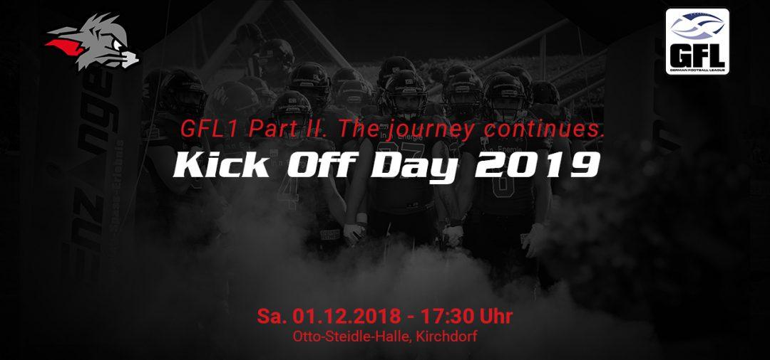 Startschuss für die neue GFL Saison