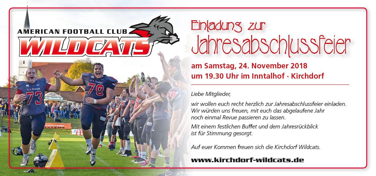 Kirchdorf Wildcats Einladung