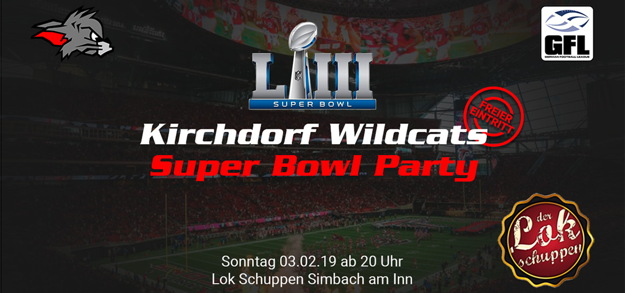 Wildcats feiern Super Bowl