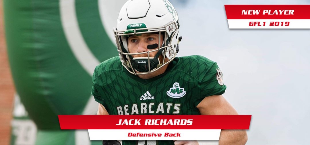 Jack Richards neuer DB bei den Wildcats