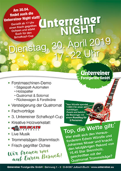 Unterreiner Night 2019