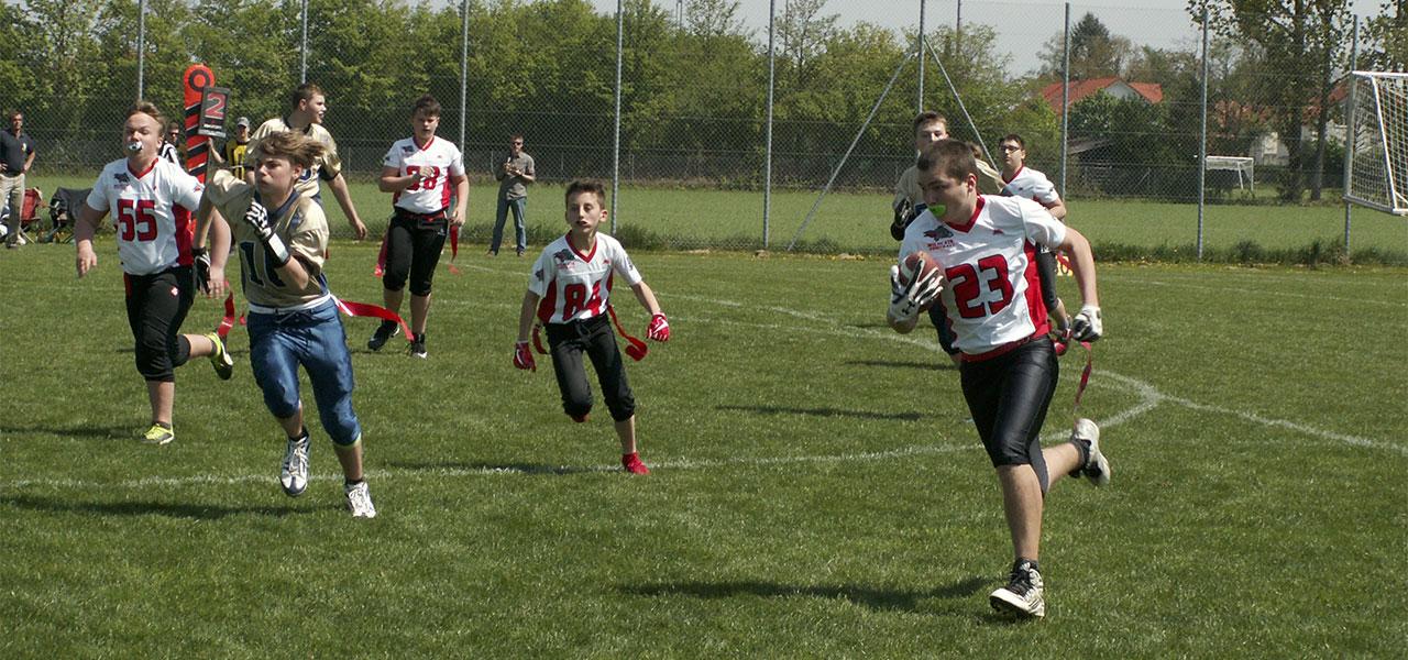 Wildcats Flagteam startet